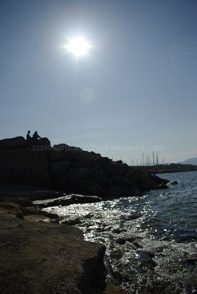 Mirando al mar..