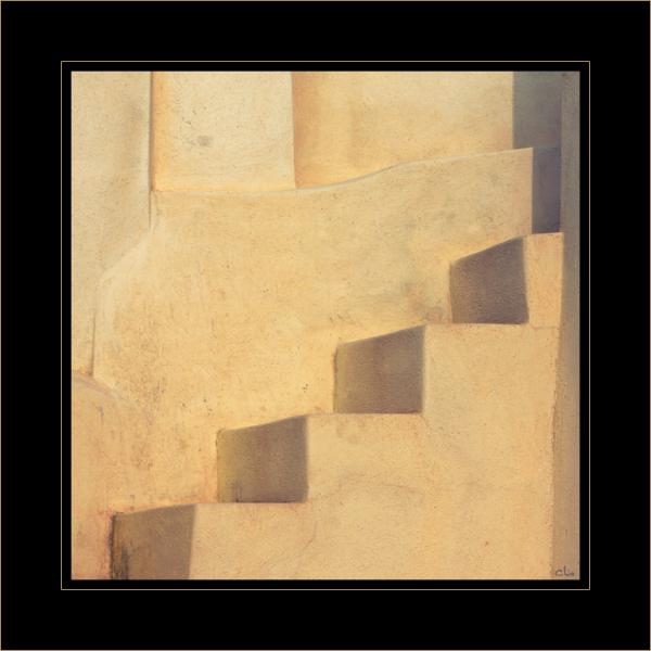 """Mise en ligne 5 """"L'escalier cubiste"""""""