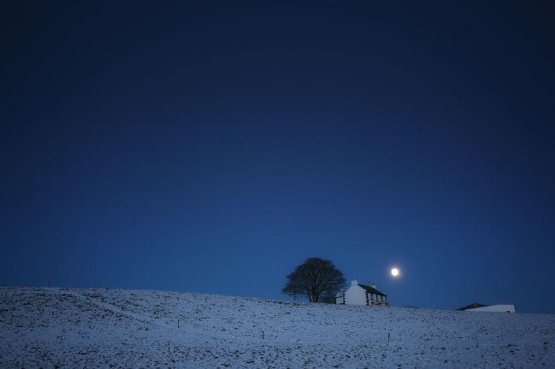 winter.solstice,moon,snow,blue,evening