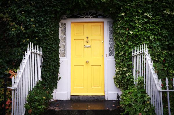 georgian doorway entrance Ireland