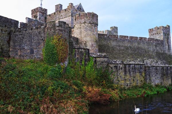 Cahir Castle in Tipperary Ireland