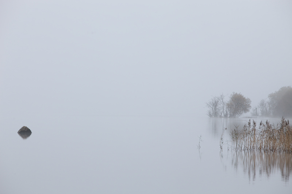 morning mist over lough leanne Kerry Ireland