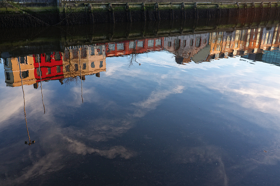 reflection Cork City scape