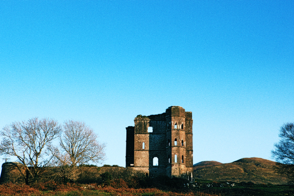 Glenbeigh Castle Kerry Ireland