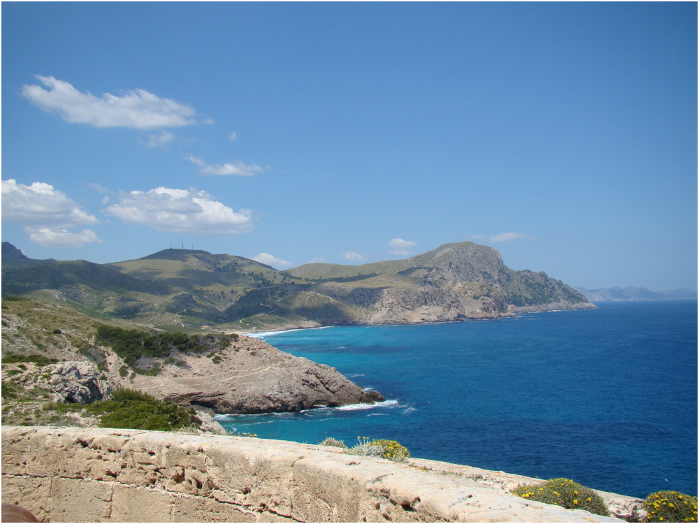 Vistes des de el Matzoc (Artà - Illes Balears)