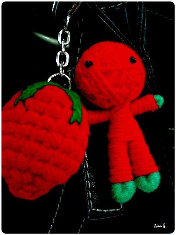 strawberry & voodoo doll