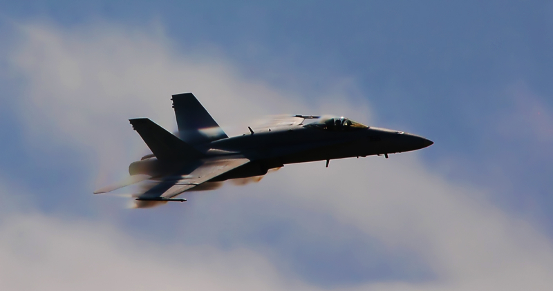 F18 Hornet at Watsonville