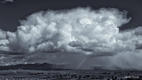 Storm over Gabilans