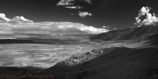 View over Mono Lake
