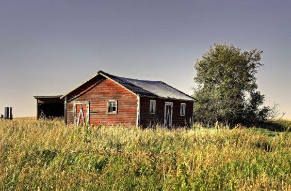 A Prairie Shed
