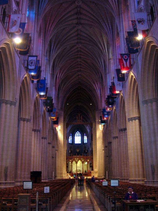 National Cathedral, Nave