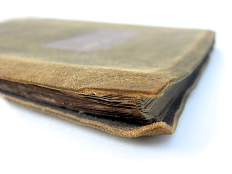 Handmade Leatherbound Book, 1901