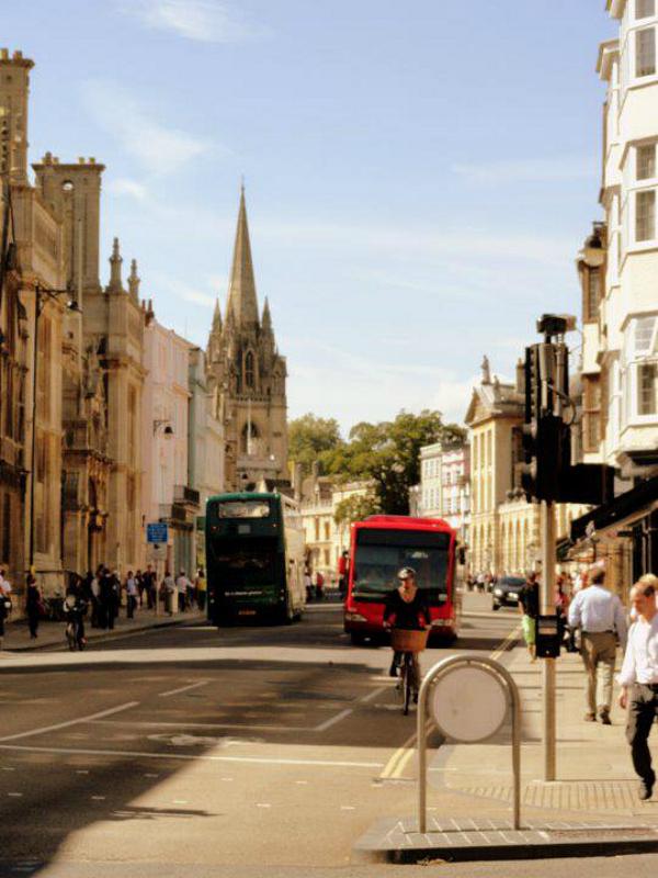 High Street, Oxford, September 2011