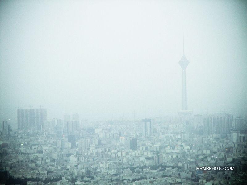 Tehran | dusty day
