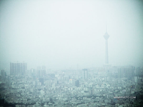 Tehran | dusty day