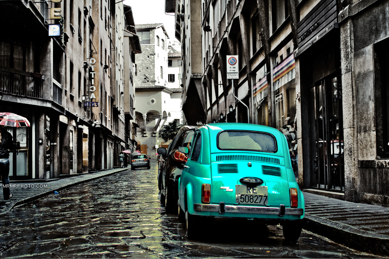 A old car in Florence