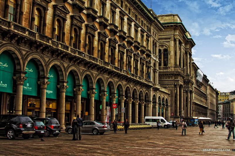 Vittorio Emanuele center in Milan