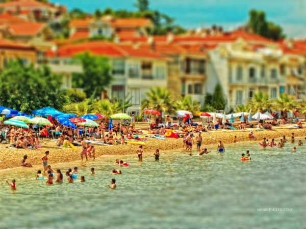 Swiming   Istanbul