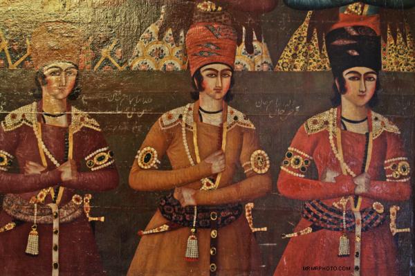 Qajar Painting in Niavaran Palace
