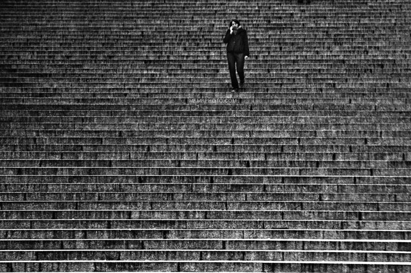 Steps of Grande Arche