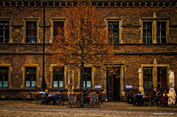 Prague castle in Autumn