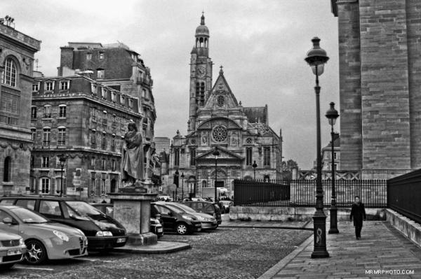 Paris and street