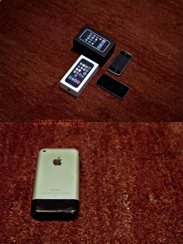 iPhone 2G and 5S