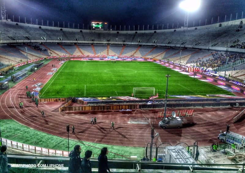 Azadi Stadium in Tehran