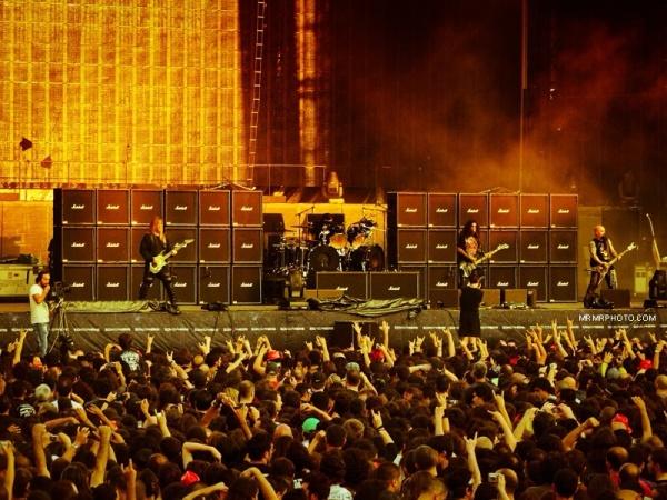 Metallica concert in Istanbul 2010- opening
