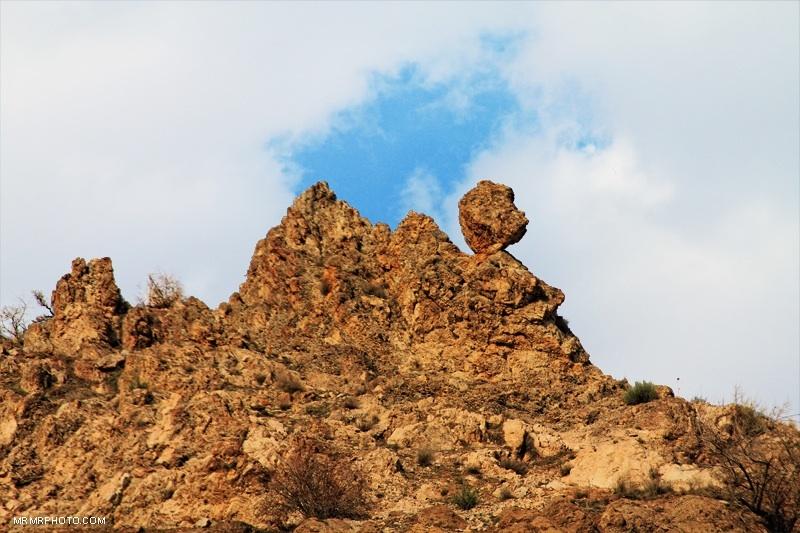 Mountain  near Tehran