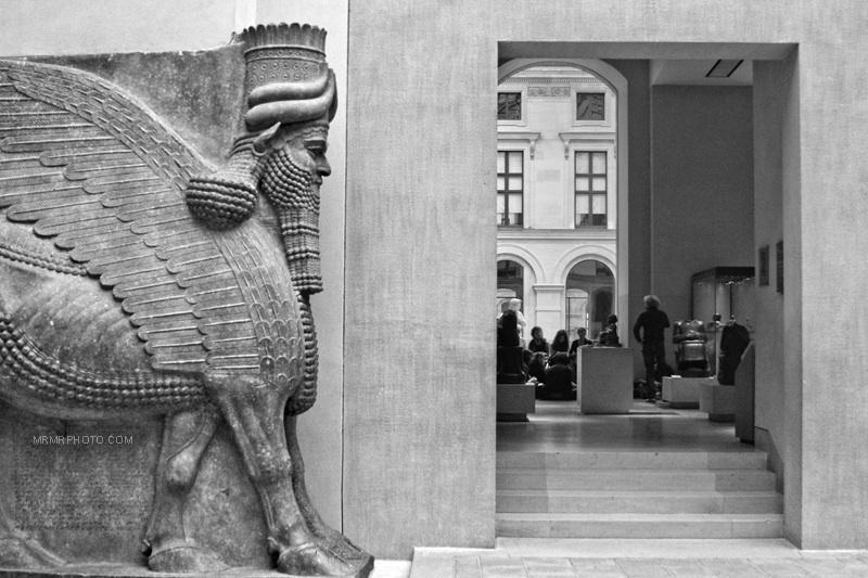 Iran in Louvre museum