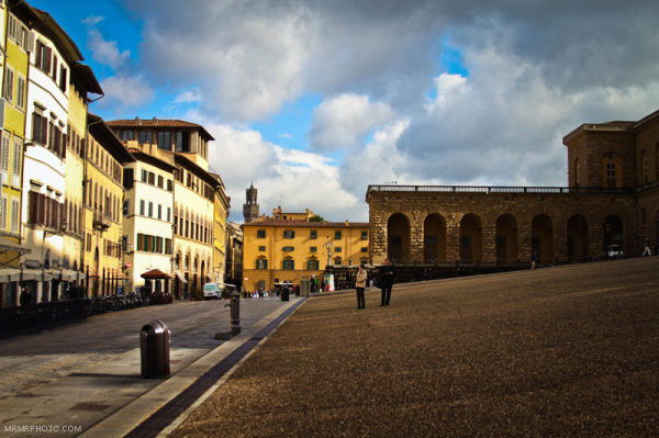 Blue sky in Florence