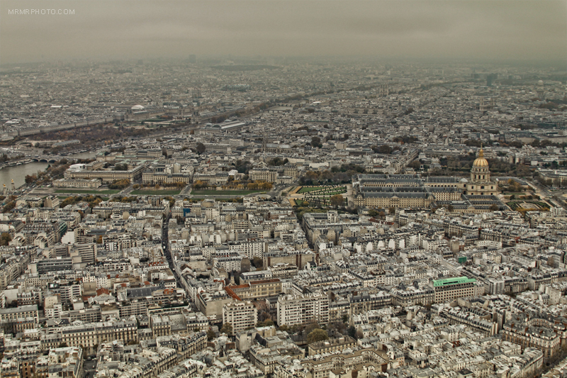 Paris from the Eiffel