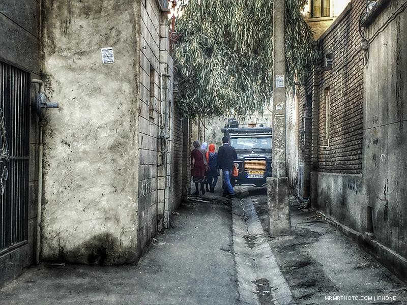 Dead end Alley in Tehran