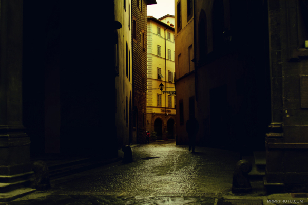 Street shot in Florence