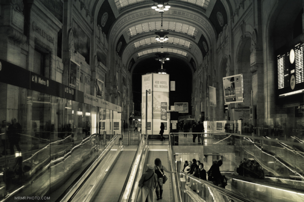 Central Station in Milan