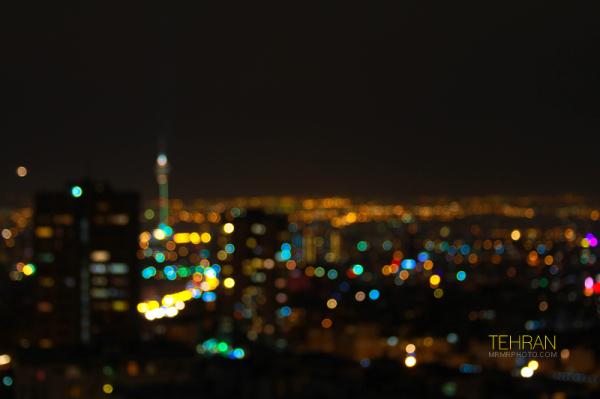 Bokeh of Tehran