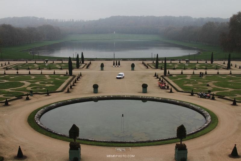 Versailles palace landscape