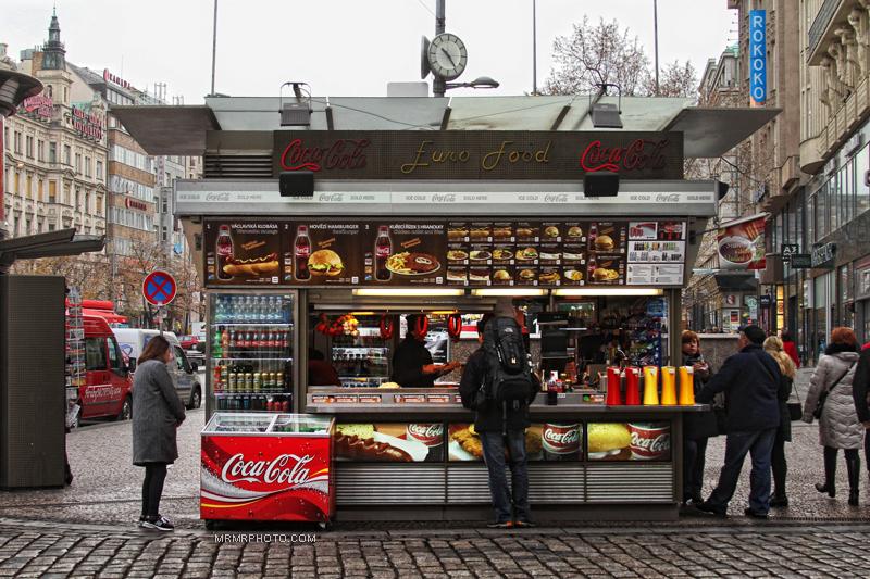 Sandwich in Prague