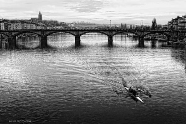 River in Prague