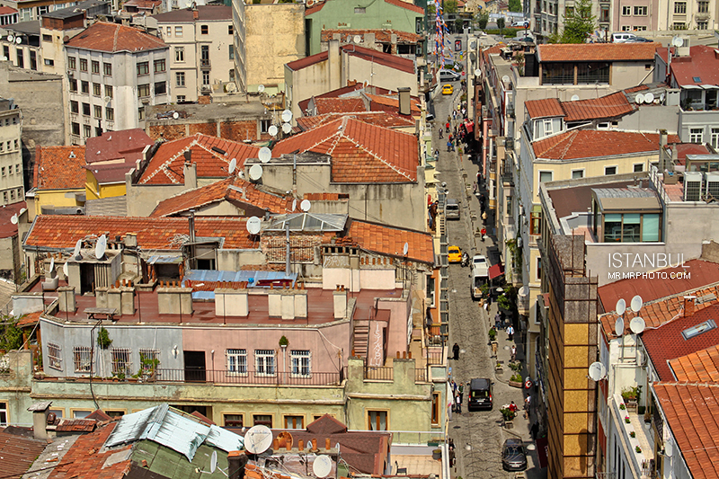 Roofs in Istanbul