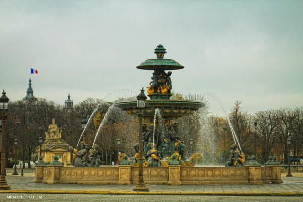 Fountain in Paris