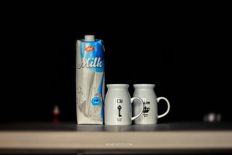 Milk & cups