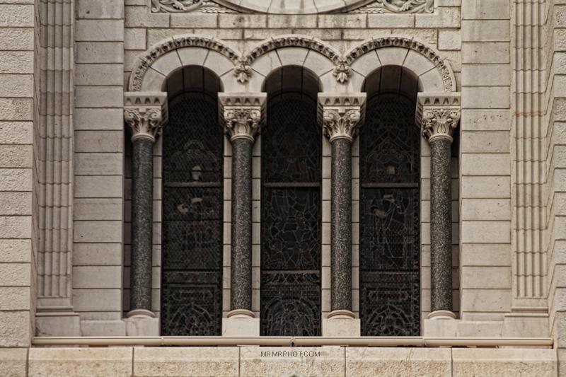 A window in Monaco