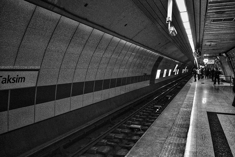 Metro Staton in Istanbul