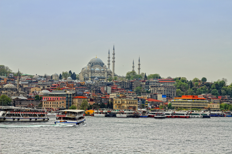 Istanbul and ships