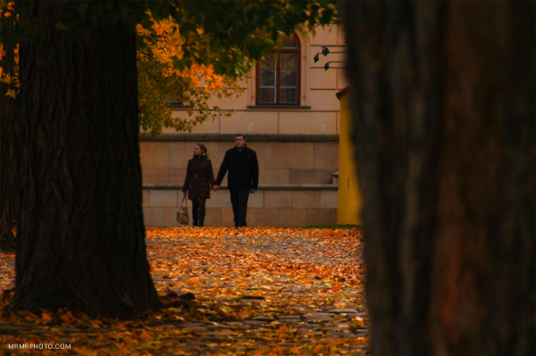 A couple in Fall