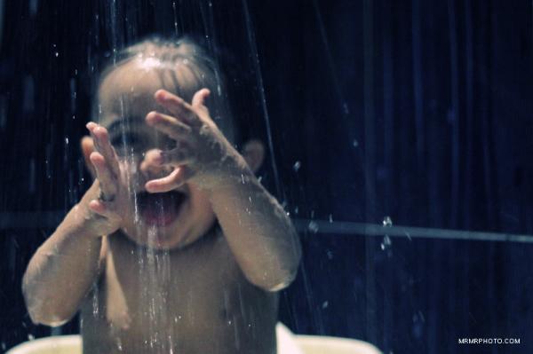 Happy Time in bath Room drop