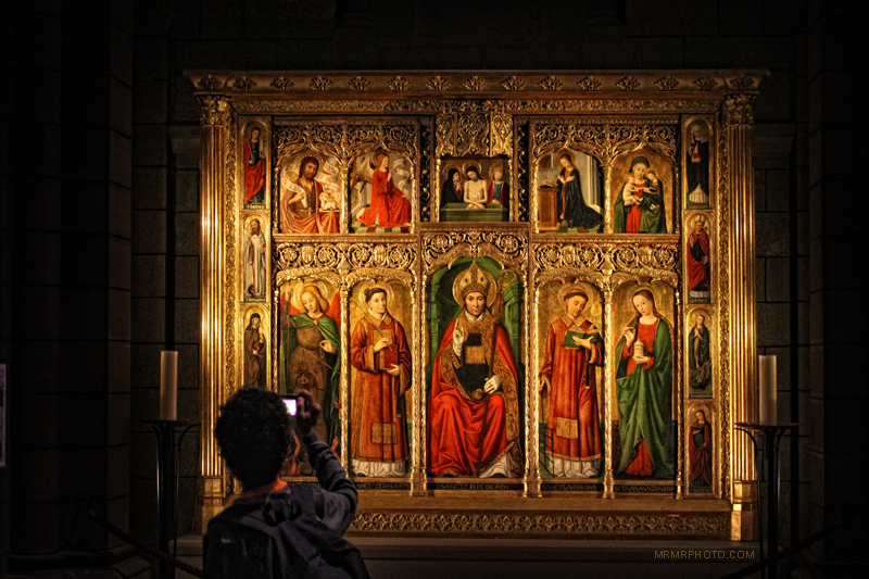 Cathedral painting in Monaco