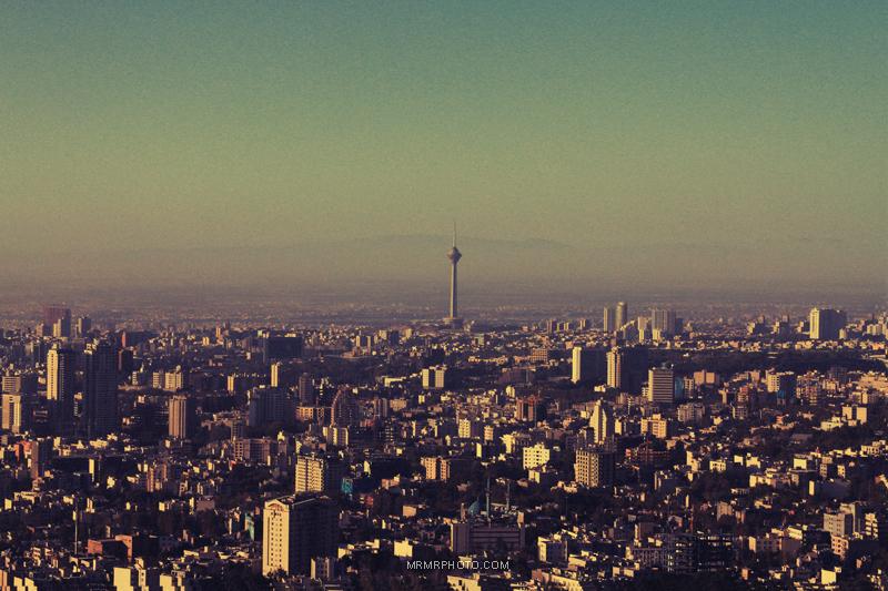 Milad tower in Tehran